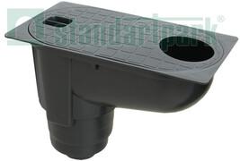 Пластиковий водостічний дощоприймач