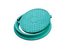 Люк полімерпіщаний зелений 4,5т