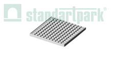 Решітка стальна чарункова Basic (оцинкована) 391x391