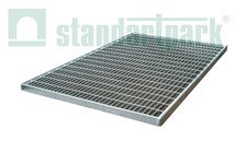Решітка сталева 600x400