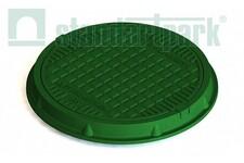 Люк полімерпіщаний легкий А15 зелений