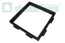 Чавунний дощоприймач-обрамлення (квадратне) 300x300