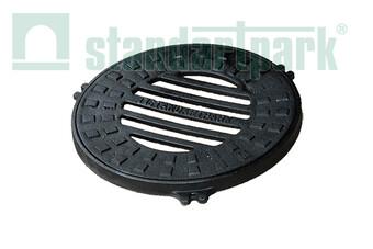Чавунний дощоприймач-обрамлення (кругле) D380  (арт. 3001)