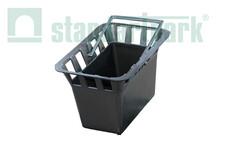 Пластикова корзина для збору сміття