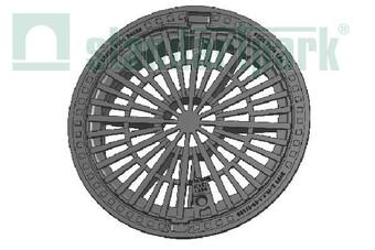 Дощоприймач чавунний круглий магістральний  (арт. 3084)