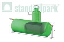Сепаратори нафтопродуктів з склопластику