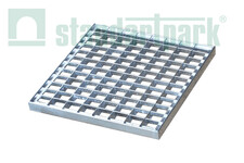 Решітка стальна Basic (чарункова) 280x280