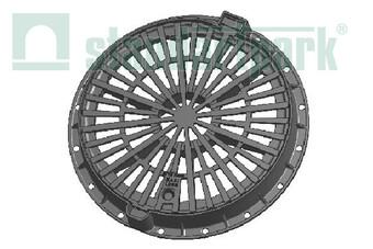 Дощоприймач чавунний круглий магістральний  (арт. 3074)