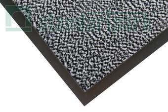 Брудозахисний килим Париж т/сірий  (арт. 06004-С)
