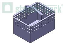 Кошик для дощоприймального колодязя DN300 (нержавіюча сталь)