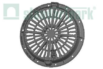 Дощоприймач чавунний круглий середній  (арт. 3072/3)