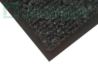 Брудозахисний килим Поляна, чорний  (арт. 06000-Ч)