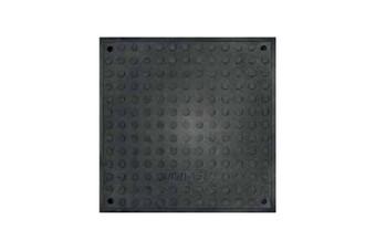 Люк каналізаційний квадратний ЛОП 1,5 т чорний (А15)