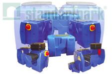 Коалісцентний сепаратор нафтопродуктів з відстійником і камерою для насоса - SWOKP