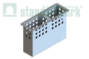Кошик для пісковловлювача DN160 з оцинкованої сталі  (арт. 6139)