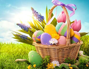 Вітаємо із світлим Великоднем!